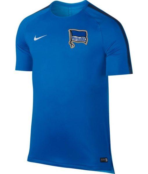 NIKE ヘルタ ベルリン 17/18 Squad トレーニング シャツ Blue 1