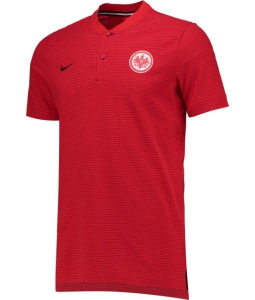 NIKE フランクフルト 17/18 オーセンティック グランドスラム ポロシャツ Red 1