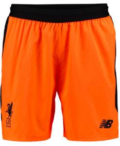 New Balance リバプール 17/18 3rdユニフォーム ショーツ Orange