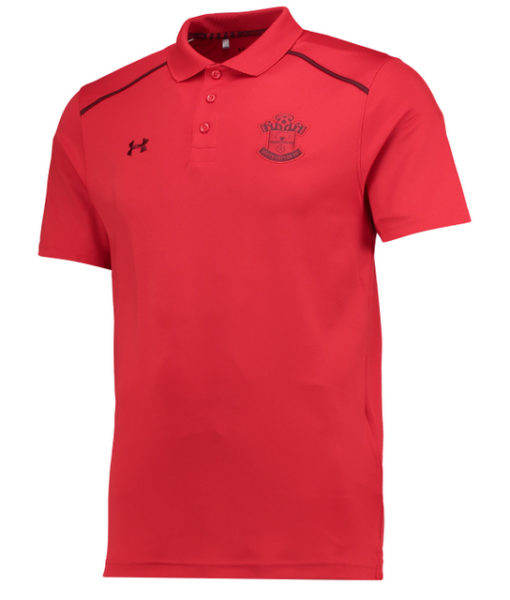 Under Armour サウサンプトン 17/18 トレーニング ポロシャツ Red 1