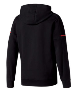 adidas マンチェスターユナイテッド 17/18 ホーム アンセム ジャケット Black