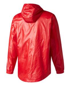 adidas マンチェスターユナイテッド 17/18 3ストライプ ウインドブレーカー ジャケット Red