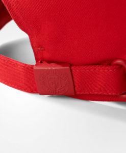 adidas マンチェスターユナイテッド 17/18 3ストライプ ベースボール キャップ Red