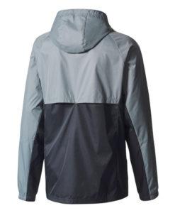 adidas マンチェスターユナイテッド 17/18 トレーニング レイン ジャケット Grey