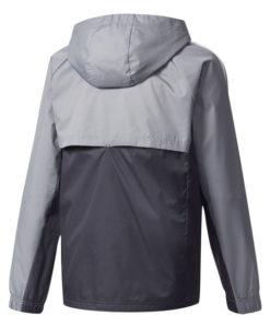 adidas マンチェスターユナイテッド Kids 17/18 トレーニング レイン ジャケット Grey