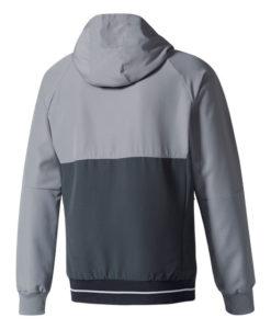 adidas マンチェスターユナイテッド 17/18 トレーニング プレゼンテーション ジャケット Grey