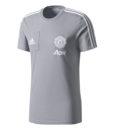 adidas マンチェスターユナイテッド 17/18 トレーニング Tシャツ Grey