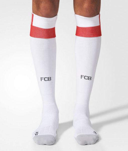 adidas バイエルン ミュンヘン 17/18 3rdユニフォーム ソックス White 1