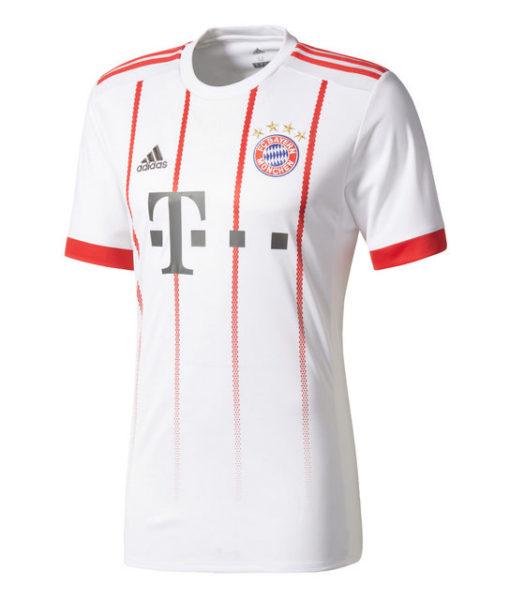 adidas バイエルン ミュンヘン 17/18 3rdユニフォーム シャツ White 1