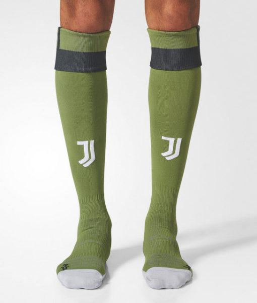 adidas ユベントス 17/18 3rdユニフォーム ソックス Green 1