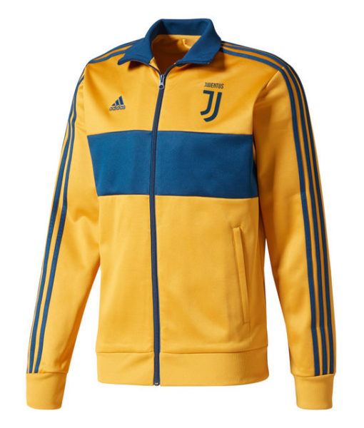 adidas ユベントス 17/18 3ストライプ トラック ジャケット Yellow 1