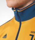 adidas ユベントス 17/18 3ストライプ トラック ジャケット Yellow