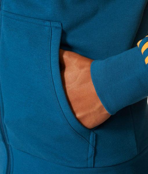 adidas ユベントス 17/18 3ストライプ フルジップ パーカー Yellow