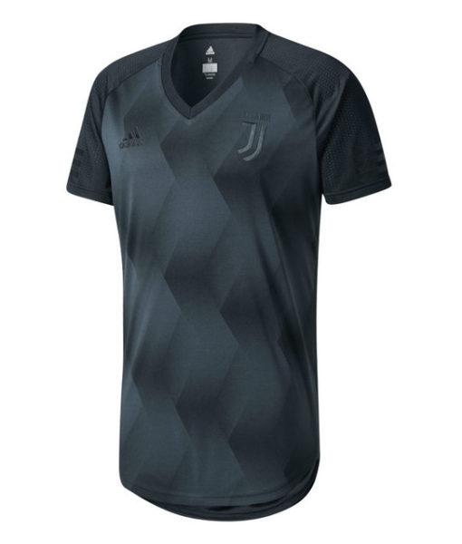 adidas ユベントス 17/18 プレミアム Tシャツ Black 1