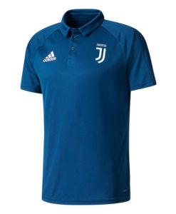 adidas ユベントス 17/18 トレーニング ポロシャツ Blue
