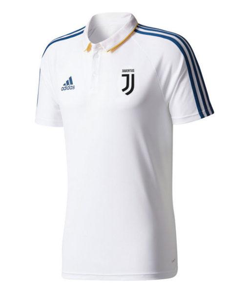adidas ユベントス 17/18 トレーニング ポロシャツ White 1