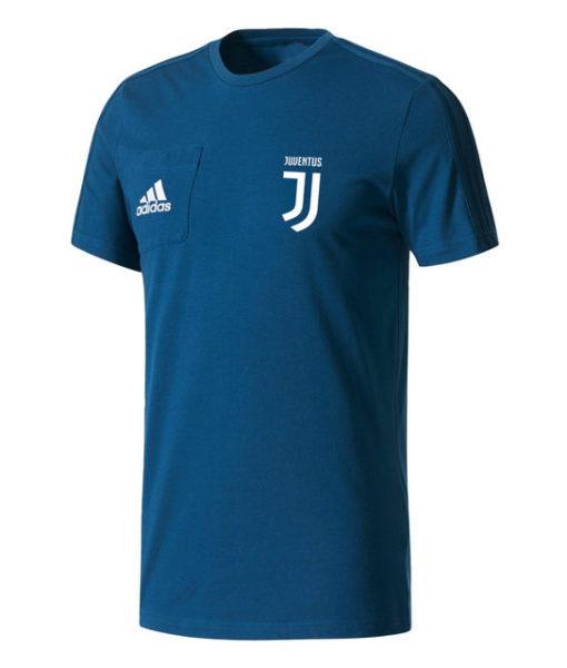 adidas ユベントス 17/18 トレーニング Tシャツ Blue 1