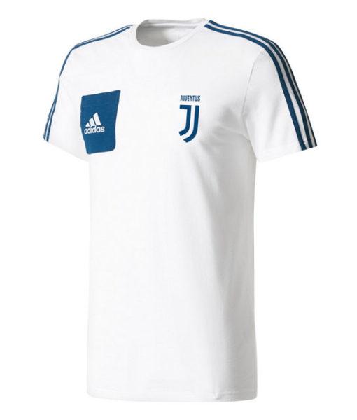 adidas ユベントス 17/18 トレーニング Tシャツ White 1