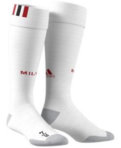 adidas ACミラン 17/18 ホーム ユニフォーム ソックス White