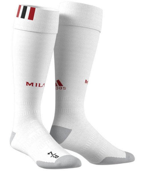 adidas ACミラン 17/18 ホーム ユニフォーム ソックス White 1