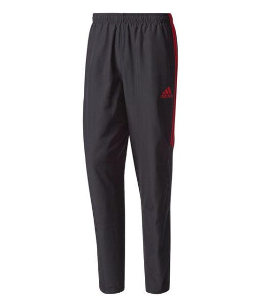 adidas ACミラン 17/18 トレーニング ウーブン パンツ Black 1