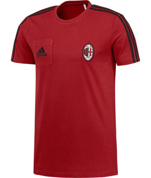 adidas ACミラン 17/18 トレーニング Tシャツ Red 1