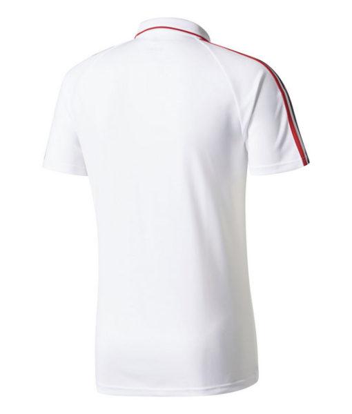 adidas ACミラン 17/18 トレーニング ポロシャツ White