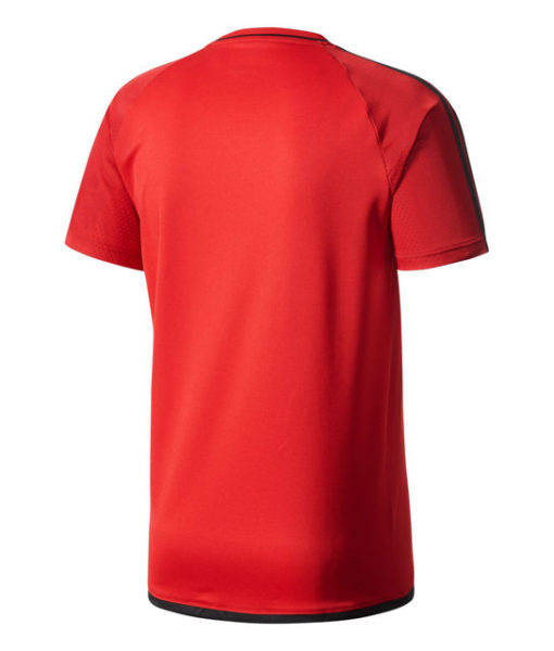 adidas ACミラン 17/18 トレーニング ジャージ シャツ Red