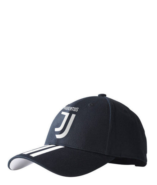 adidas ユベントス 17/18 3ストライプ ベースボール キャップ Black 1
