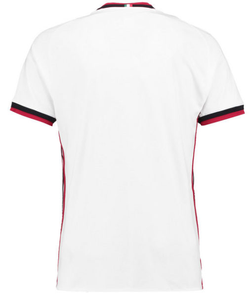 adidas ACミラン 17/18 アウェイ ユニフォーム シャツ Navy