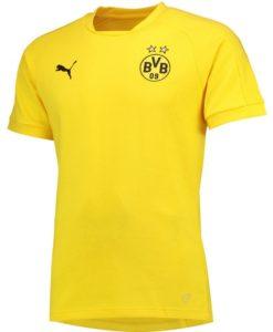 PUMA ドルトムント 17/18 グラフィック Tシャツ Yellow