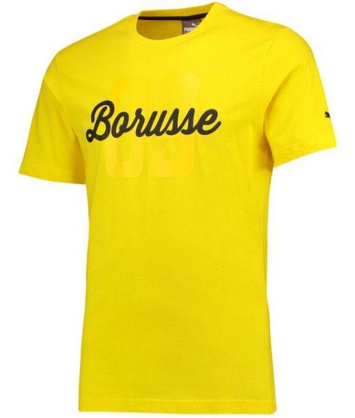 PUMA ドルトムント 17/18 Borusse Tシャツ Yellow 1