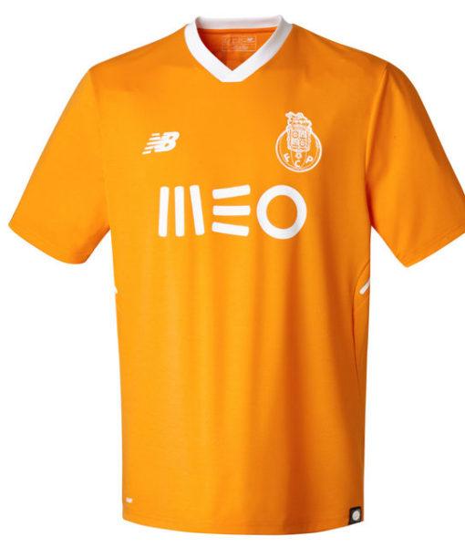 New Balance FCポルト 17/18 アウェイ ユニフォーム シャツ Orange 1