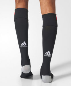 adidas ACミラン 17/18 3rdユニフォーム ソックス Black