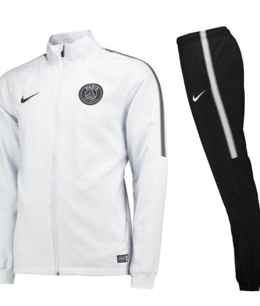 NIKE パリ サンジェルマン 17/18 Squad ウーブン トレーニングスーツ White 1