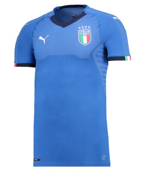 PUMA イタリア 2018 オーセンティック ホーム シャツ  1