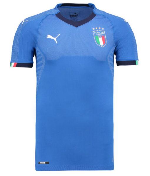 PUMA イタリア 2018 オーセンティック ホーム シャツ