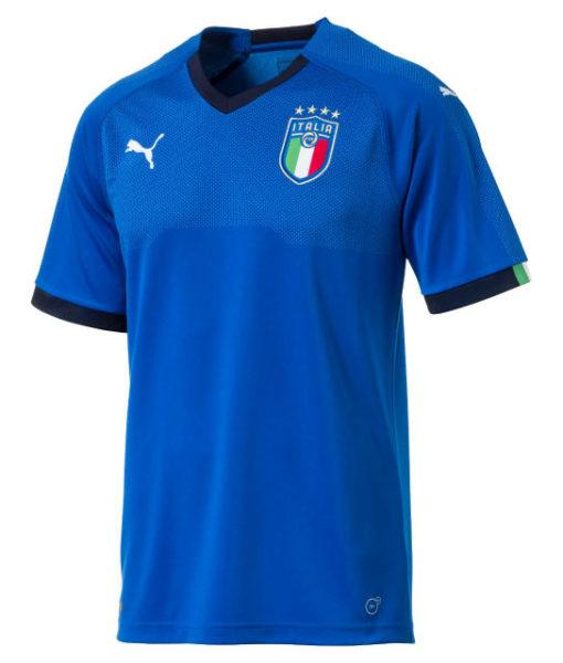 PUMA イタリア 2018 ホーム シャツ  1