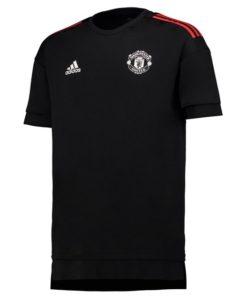 adidas マンチェスターユナイテッド 17/18 UEFA CL トレーニング ジャージー Black