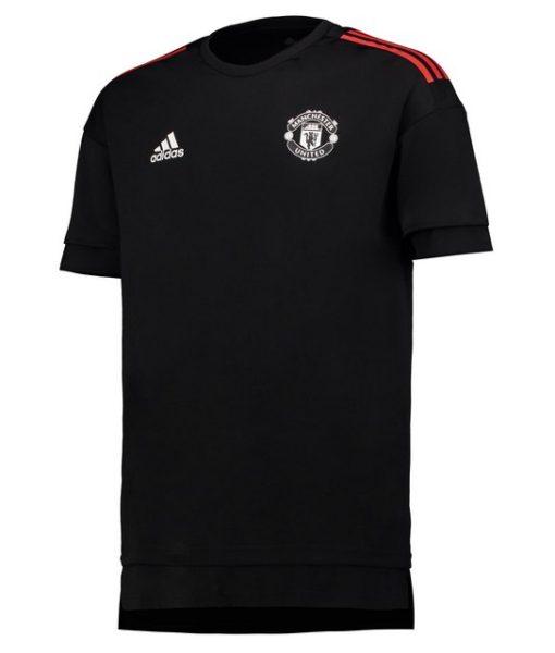 adidas マンチェスターユナイテッド 17/18 UEFA CL トレーニング ジャージー Black 1