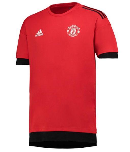 adidas マンチェスターユナイテッド 17/18 UEFA CL トレーニング ジャージー Red 1
