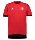 adidas マンチェスターユナイテッド 17/18 UEFA CL トレーニング ジャージー Red