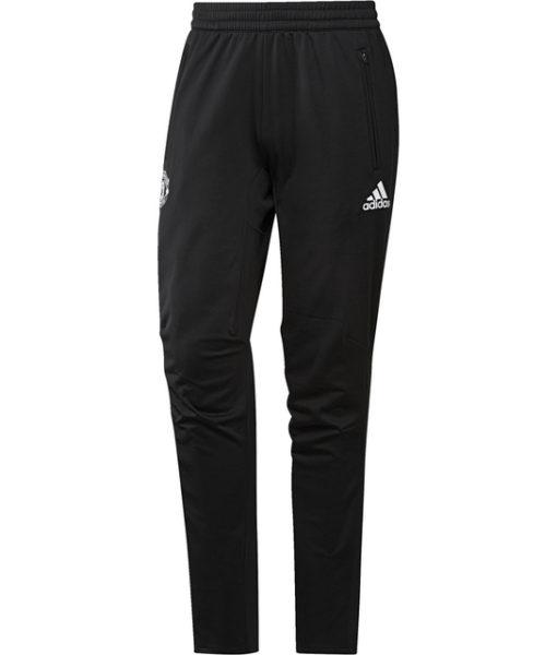 adidas マンチェスターユナイテッド 17/18 UEFA CL トレーニング パンツ Black 1