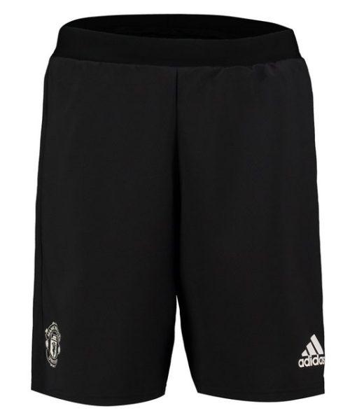 adidas マンチェスターユナイテッド 17/18 UEFA CL トレーニング ショーツ Black 1