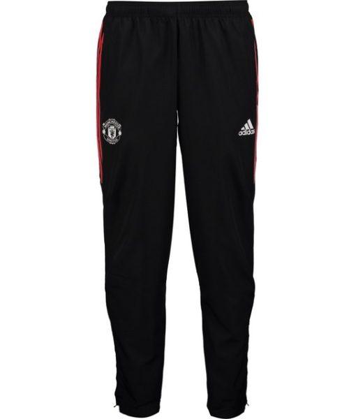 adidas マンチェスターユナイテッド 17/18 UEFA CL トレーニング ウーブン パンツ Black 1