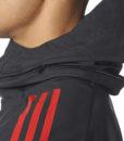 adidas マンチェスターユナイテッド 17/18 UEFA CL トレーニング オールウェザージャケット Black