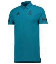 adidas レアルマドリード 17/18 UEFA CL トレーニング ポロシャツ Blue