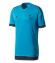 adidas レアルマドリード 17/18 UEFA CL トレーニング ジャージー Blue