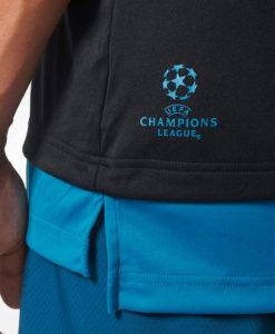 adidas レアルマドリード 17/18 UEFA CL トレーニング ジャージー Black