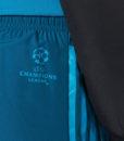adidas レアルマドリード 17/18 UEFA CL トレーニング ウーブン パンツ Black